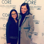 Me with Elle Canada's Editor In Chief, Noreen Flanagan.